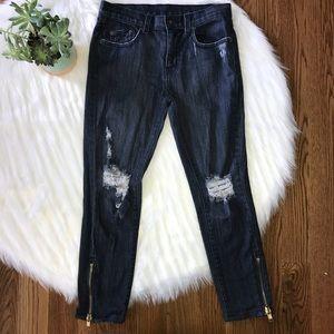 Carmar Distressed Skinny Jeans Size 26 / 2